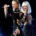 Iggy Azalea And Rita Ora MTV VMA 2014