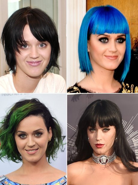 Katy Perry's hair transformations
