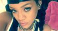 Rihanna selfie