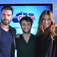 Daniel Radcliffe with Dave Berry & Lisa Snowdon