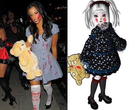 29 Incredible Celebrity Halloween Costumes: The Spookiest Outfit ...