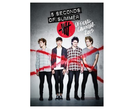 5 Seconds of Summer Official Calendar 2015