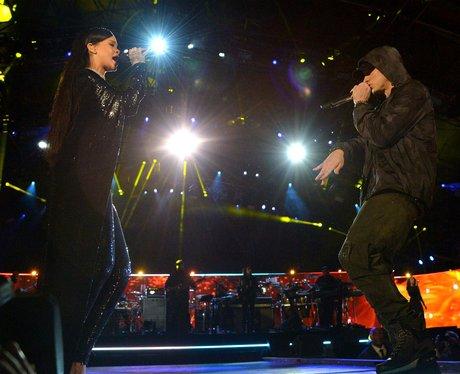 Rihanna and Eminem