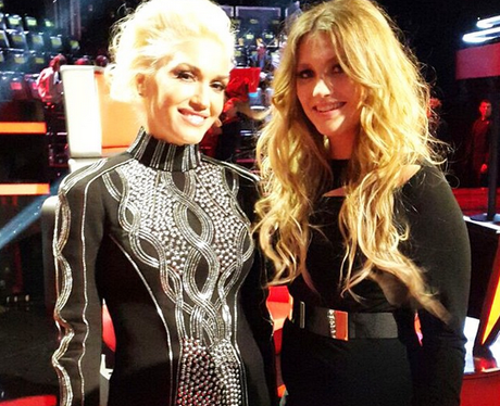 Gwen Stefani And Ella Henderson The Voice US Insta