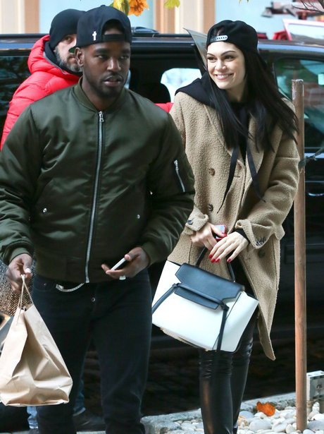 Jessie J and boyfriend Luke James