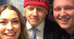 Boris, Tom and Claire