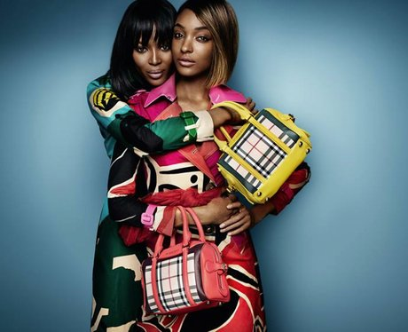 Naomi Campbell and Jourdan Dunn star in the new Bu