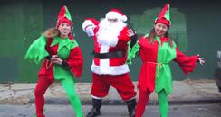 Santa Kiesza Parody Video