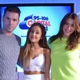 Ariana Grande with Dave Berry & Lisa Snowdon
