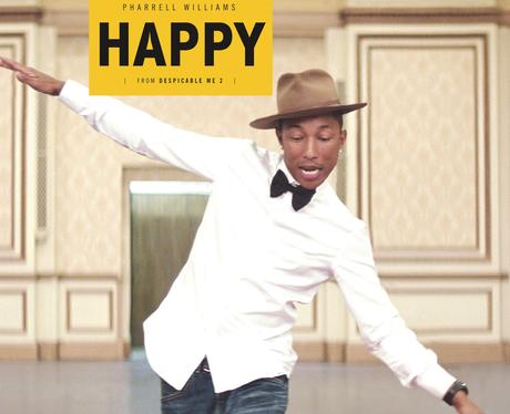 Pharrell Williams Happy Single Cover