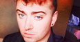 Sam Smith with curly hair