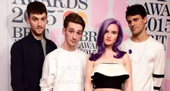 Clean Bandit at the BRIT nominations 2015