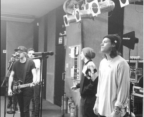 One Direction Rehearsing
