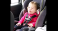 Two year old girl shake it off lip sync