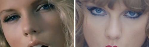 Taylor Swift Then & Now