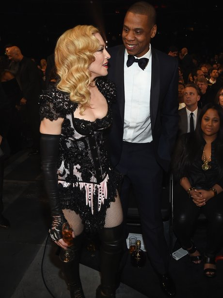 Jay Z and Madonna Grammy Awards 2015