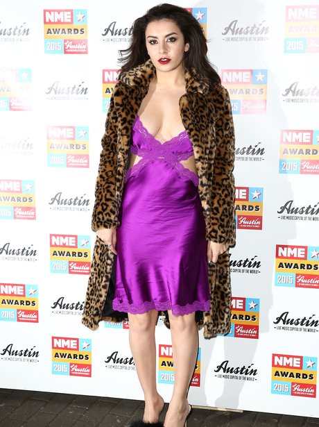 Charlie XCX NME Awards 2015