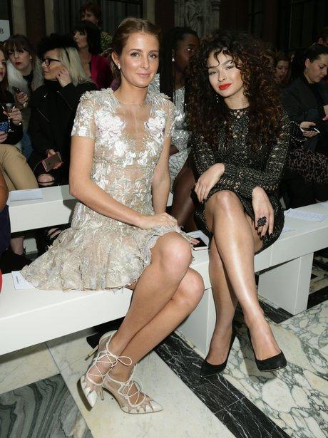 Millie Mackintosh and Ella Eyre London Fashion Wee