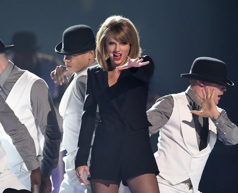 Taylor Swift BRIT Awards 2015 Performance