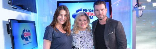 Kelly Clarkson With Dave Berry And Lisa Snowdon