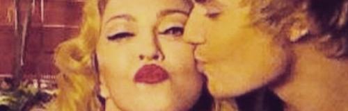 Madonna and Justin Bieber