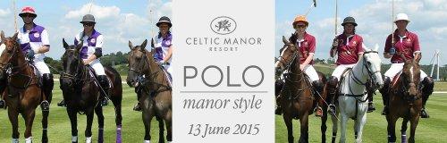 Horses and their polo jockeys