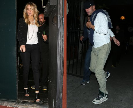 Jennifer Lawrence and boyfriend Chris Martin