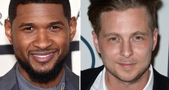 Usher and Ryan Tedder