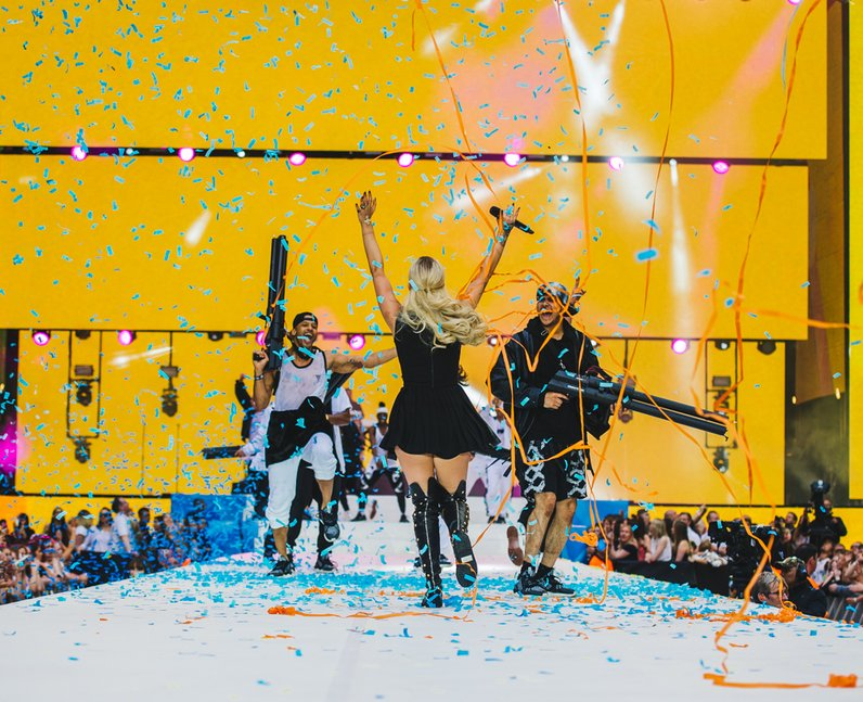 Rita Ora Live Summertime Ball 2015
