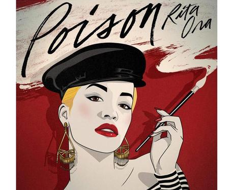 Poison Rita Ora Capital Artwork 2015