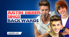 Justin Bieber Singing Backwards