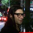 Skrillex interviews cameraman