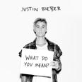 Justin Bieber What Do You Mean Single Artwork
