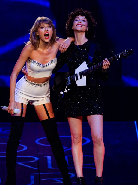 Taylor Swift and St Vincent 1989 Tour