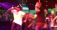 Chris Brown Ed Sheeran Live Duet