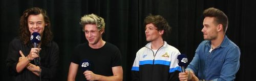 One Direction Backstage at the O2 2015