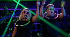Ellie Goulding James Corden