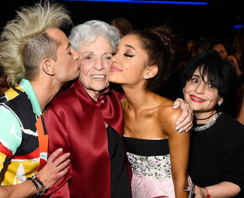 Grande Family American Music Awards 2015