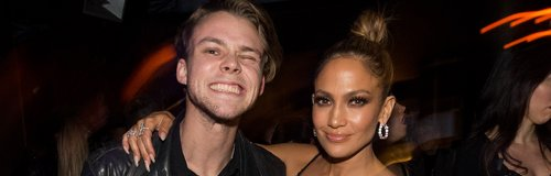 Jennifer Lopez and Ashton Irwin  AMA's after party