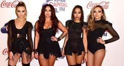 Little Mix Red Carpet Jingle Bell Ball 2015