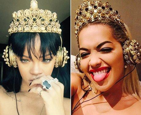 Rihanna & Rita Ora