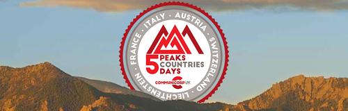 5 Countries 5 Peaks 5 Days