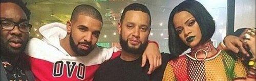Rihanna & Drake 'Work' music video BTS