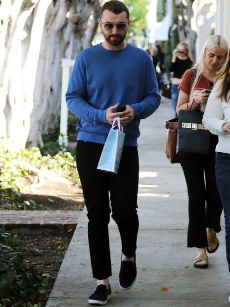 Sam Smith in West Hollywood