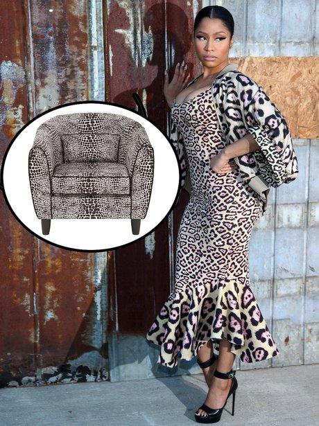 Celebs That look like Furniture Gallery Nicki Mina