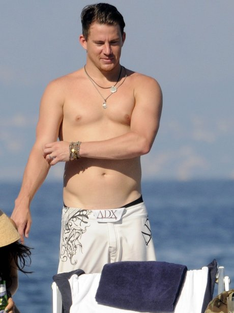 Blowjob! Naked pics of channing tatum think