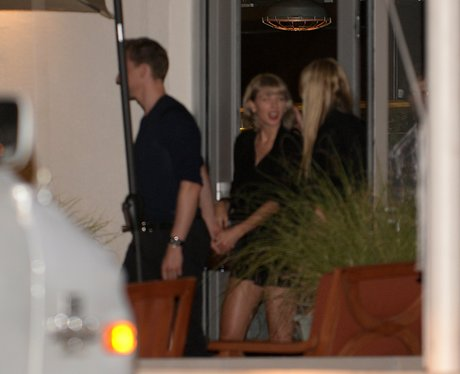 Taylor Swift and Tom Hiddleston spotted holding ha