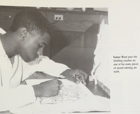 Kanye West yearbook