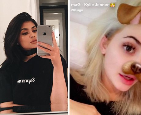 Kylie Jenner dyes her hair blonde