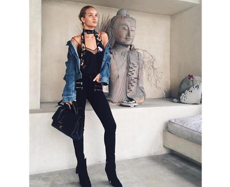 Fashion Moments Rosie Huntington-Whiteley